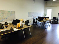***Loft Style***Fully Renovated Open Concept Office