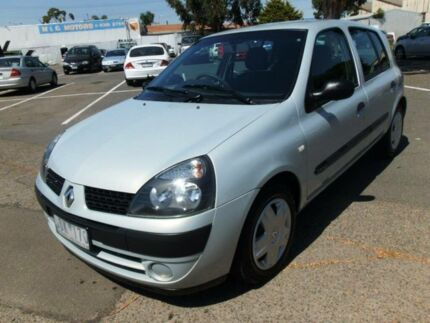 2005 Renault Clio Authentique Silver 4 Speed Automatic Hatchback Maidstone Maribyrnong Area Preview