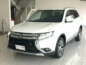 2017 Mitsubishi Outlander ZK MY17 LS 2WD White 6 Speed Constant Variable Wagon Southport Gold Coast City Preview