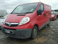 Vauxhall vivaro 2.0 cdti 2008 **BREAKING** M9R 780 782 786