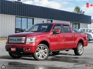 2013 Ford F-150 Limited 6.2 Litre engine.