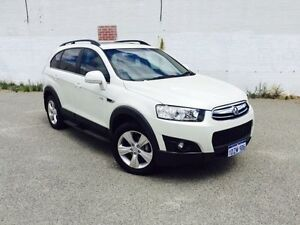 2012 Holden Captiva CG Series II 7 CX (4x4) White 6 Speed Automatic Wagon Beckenham Gosnells Area Preview