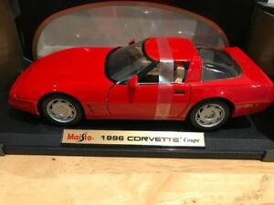 1/18 Diecast Maisto 1996 Chevrolet Corvette Coupe (not autoart)