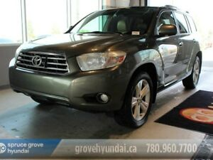 2010 Toyota Highlander LIMITED V6-NAVIGATION LEATHER 6 PASSENGER