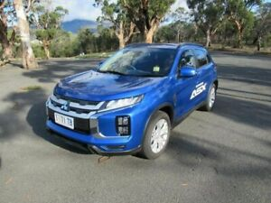 2019 Mitsubishi ASX XC MY19 LS 2WD Blue 6 Speed Constant Variable Wagon Glenorchy Glenorchy Area Preview