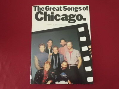 Chicago - The Great Songs of . Songbook Notenbuch Piano Vocal Guitar PVG