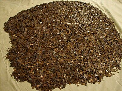 Huge Weekend Buy of Wheat Penny Roll Of 50 Coins From Lot Being Sold CHEAP