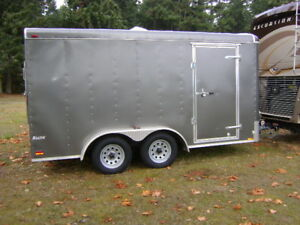 14x7 utility trailer and diesel smart car