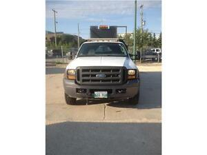 2005 Ford Super Duty F-450 DRW XL Crew with 9ft dumpbox