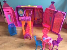 Barbie Play 'N' Store Castle
