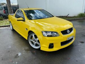 2011 Holden Ute VE II SV6 Thunder Utility Extended Cab 2dr Man 6sp 645kg 3.6 Yellow Manual Utility Oxley Park Penrith Area Preview