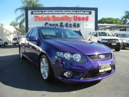 2009 Ford Falcon FG XR6 Ute Super Cab Purple 5 Speed Auto Seq Sportshift Utility Caboolture South Caboolture Area Preview