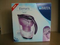 Brita Elemaris Meter Water Filter Jug Limited Edition – Purple -Boxed New Unused