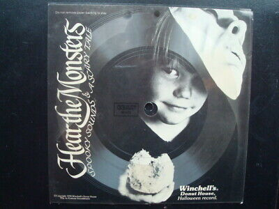 70'S HALLOWEEN WINCHELL'S DONUT PROMO RECORD  (70s Halloween Records)