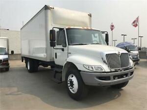 2014 INTERNATIONAL 4300 5 ton truck 7500 22 feet box