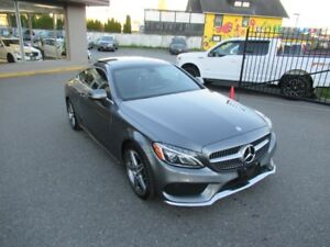 2017 Mercedes-Benz C-Class C300 COUPE 4MATIC