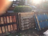Four Pallets for free