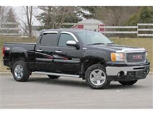 2013 GMC Sierra 1500 SLT Crew 4WD|Z71|Sunroof|Navi|Leather