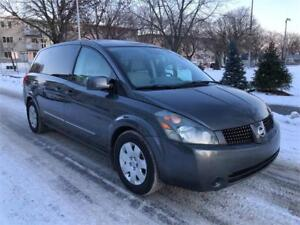 2004 NISSAN  QUEST  , 7 PASSAGERS , 116.000 KM , AUTOMATIQUE