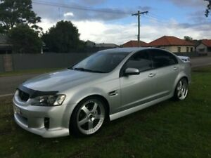 2009 Holden Commodore VE MY09.5 SV6 Silver 5 Speed Automatic Sedan Mayfield East Newcastle Area Preview