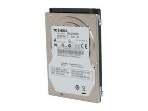 "Toshiba 2.5"" SATA2 laptop hard drive, 320GB"