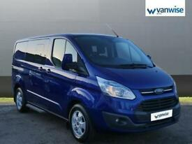 2016 Ford Transit Custom 2.2 TDCi 155ps Low Roof D/Cab Limited Van Diesel blue M