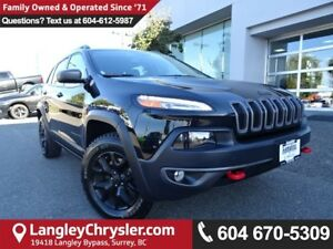 2016 Jeep Cherokee Trailhawk *ACCIDENT FREE*ONE OWNER*LOCAL B...