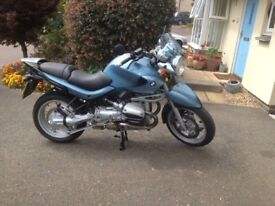 BMW R1150R very nice condition, low mileage, new MOT