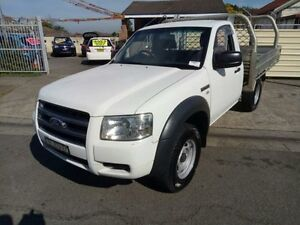 2008 Ford Ranger PJ XL White 5 Speed Manual 2D Cab Chassis