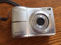 Olympus FE 170 camera with carrying case