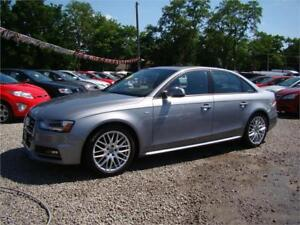 2016 Audi A4 Quattro S-Line AWD Moonroof Only 54kms