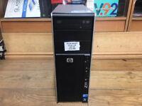 HP Z400 Workstation Xeon W3503 2.4GHz 8GB RAM 320GB HD Quadro Win 7 PC