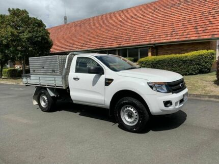 2014 Ford Ranger PX XL HI-RIDE White 6 Speed Automatic Single Cab Chermside Brisbane North East Preview