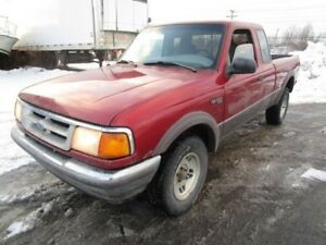 """Ford Ranger Supercab 125.4"""" WB 4WD,5 PLACES 1997"""
