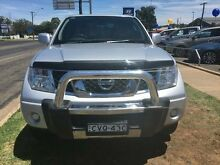 2011 Nissan Navara D40 ST (4x4) Silver 6 Speed Manual Dual Cab Pick-up Young Young Area Preview