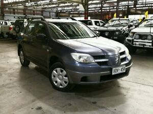 2006 Mitsubishi Outlander ZF MY06 LS Grey 4 Speed Sports Automatic Wagon Mile End South West Torrens Area Preview