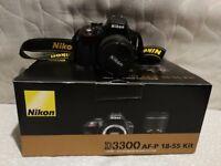 Nikon D3300 for sale, mint condition