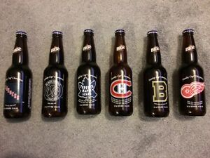 Original 6 Labatt Blue Collectible Beer Bottles