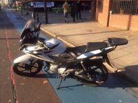 Honda CBF 2012 HONDA CBF125 HEATED GRIPS, SCREEN, REAR RACK, ENGINE GUARD...