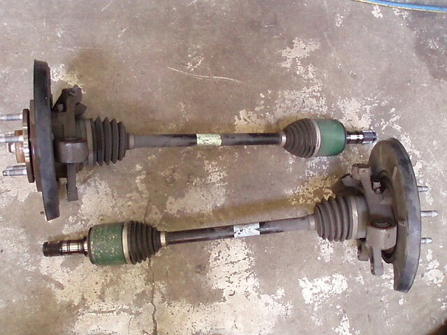 Ve Ss Holden Commodore Rear Drive Shaft C W Hub Hsv Sv6