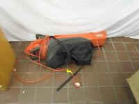 Electric Garden Vac or Blower . Flymo Garden Vac 2200 Turbo