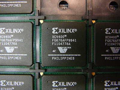 Xilinx Xcv400 4Fg676c Ic Fpga 404 I O 676Fbga   New