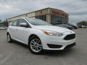 2016 Ford Focus SE, ALLOYS, HTD. SEATS, BT, CAMERA, 29K!