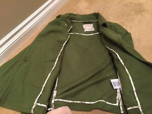 Women's Green Old Navy Peacoat - Perfect for Fall Cambridge Kitchener Area image 3