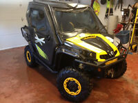 2012 Can-am Commander X Loaded With $10,000 Accessories