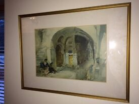 Russell Flint print collection - two framed