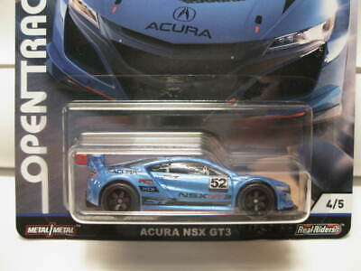 HOT WHEELS CAR CULTURE-OPEN TRACK ACURA NSX GT3 NEW!