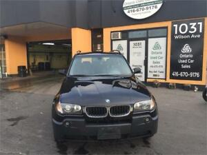 2004 BMW X3 2.5i  AWD, Sports M Package Rims, Certified