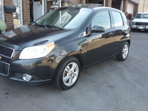 2009 Chevrolet Aveo LT Hatchback !!! Good in Gas ,One Owner