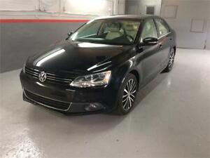 2013 Volkswagen Jetta Highline/Navigation/Camera/Cuir Tan/Toit